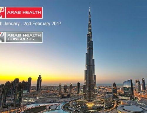 See Us at Arab Health in Dubai